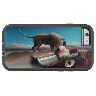 Capa Tough Xtreme Para iPhone 6 Henri Rousseau o vintage aciganado do sono