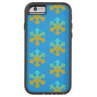 Capa Tough Xtreme Para iPhone 6 iPhone 6/6s dos flocos de neve, Xtreme resistente