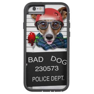 Capa Tough Xtreme Para iPhone 6 Jaque engraçado russell, cão do Mugshot