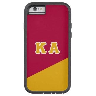 Capa Tough Xtreme Para iPhone 6 Letras alfa do grego da ordem   do Kappa