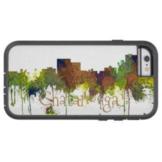 Capa Tough Xtreme Para iPhone 6 Lustre do safari da skyline de Chatanooga