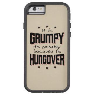 Capa Tough Xtreme Para iPhone 6 MAL-HUMORADO porque HUNGOVER (preto)