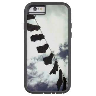 Capa Tough Xtreme Para iPhone 6 Meias pretas. Tampa do telefone dos Arty