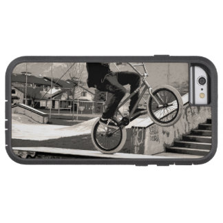 Capa Tough Xtreme Para iPhone 6 Mestre do Wheelie - motociclista de BMX