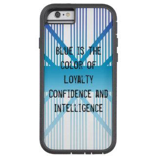 Capa Tough Xtreme Para iPhone 6 O azul é…