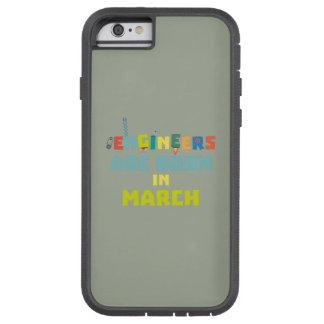 Capa Tough Xtreme Para iPhone 6 Os engenheiros são em março Za0s2 nascidos