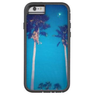 CAPA TOUGH XTREME PARA iPhone 6 PALMEIRAS DE BEAUTYFUL FLORIDA E CÉU AZUL