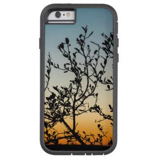 Capa Tough Xtreme Para iPhone 6 Por do sol de Austin no inverno