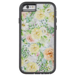 Capa Tough Xtreme Para iPhone 6 Presente forte do caso do iPad do iPhone da flor