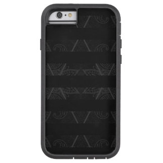 Capa Tough Xtreme Para iPhone 6 Preto Embellished Argyle listrado