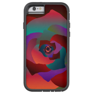 Capa Tough Xtreme Para iPhone 6 Rosa multicolorido,