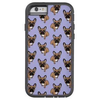Capa Tough Xtreme Para iPhone 6 Seja agradável à jovem corça preta bonito Frenchie