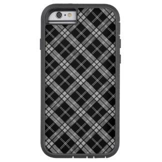 Capa Tough Xtreme Para iPhone 6 Tartan preto