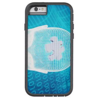 Capa Tough Xtreme Para iPhone 6 Tecnologia futurista com a microplaqueta Soluti do
