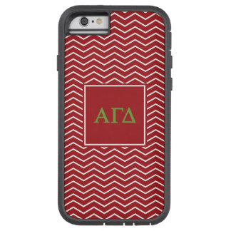 Capa Tough Xtreme Para iPhone 6 Teste padrão alfa do delta | Chevron da gama