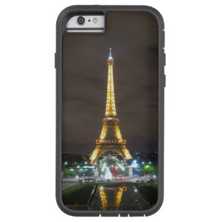 Capa Tough Xtreme Para iPhone 6 Torre Eiffel na noite, Paris