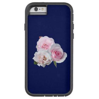 Capa Tough Xtreme Para iPhone 6 Três rosas cor-de-rosa