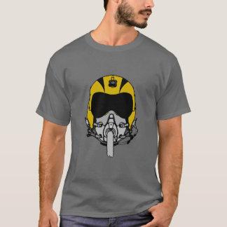 Capacete #1 do vôo camiseta