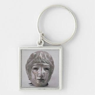 Capacete com a decoração de Eagle, romana (prata) Chaveiros