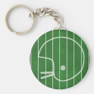Capacete de futebol chaveiro