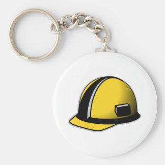 Capacete de segurança chaveiro