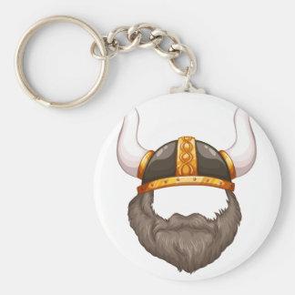 Capacete de Viking Chaveiro