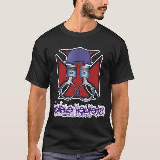 Capacetes roxos - cruz 01 do ferro camiseta