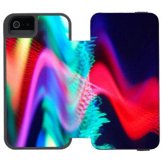 Capas de iphone abstratas capa carteira incipio watson™ para iPhone 5