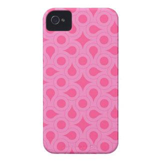 Capas de iphone abstratas cor-de-rosa capa para iPhone 4 Case-Mate