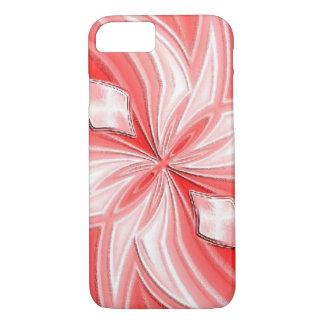 Capas de iphone abstratas cor-de-rosa do design