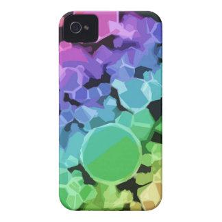 Capas de iphone abstratas do arco-íris capas para iPhone 4 Case-Mate