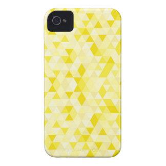 Capas de iphone abstratas dos triângulos capa para iPhone 4 Case-Mate