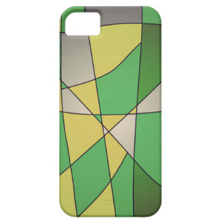 Capas de iphone abstratas verdes capa para iPhone 5