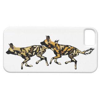Capas de iphone africanas dos cães selvagens