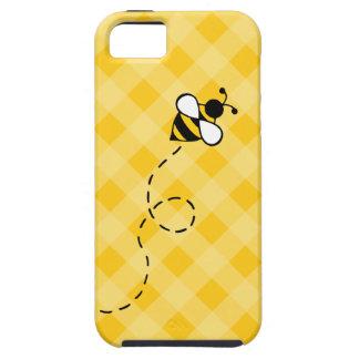 Capas de iphone amarelas bonitos da abelha do mel