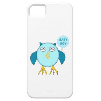 Capas de iphone azuis bonitos da coruja do bebé capa para iPhone 5