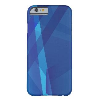 Capas de iphone azuis da arte abstracta capa barely there para iPhone 6