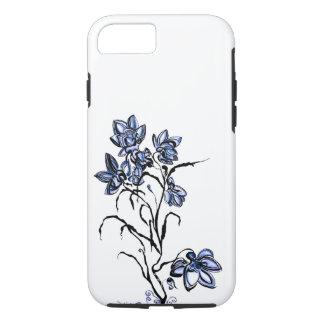 Capas de iphone azuis da flor