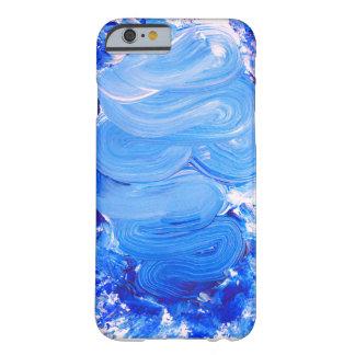 Capas de iphone azuis do curso da escova