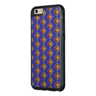 Capas de iphone azuis geométricas de OtterBox do