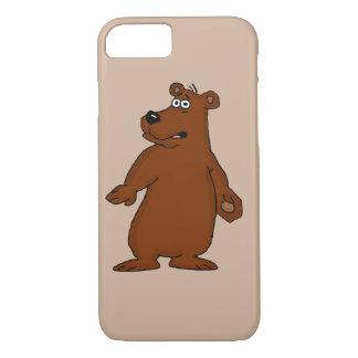 Capas de iphone bonitos do design do urso marrom