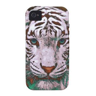 capas de iphone brancas do tigre capinhas iPhone 4/4S