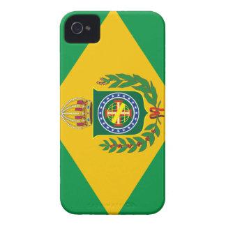 Capas de iphone brasileiras da bandeira do império capas para iPhone 4 Case-Mate