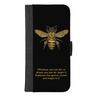 Capas de iphone/carteira da abelha do mel