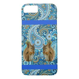 Capas de iphone coloridas dos esquilos bonitos