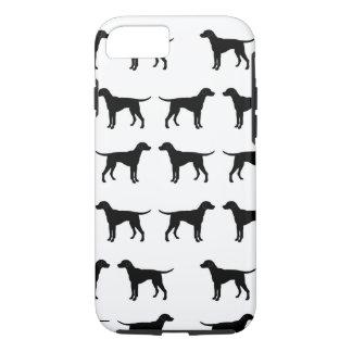 Capas de iphone com um teste padrão do cão