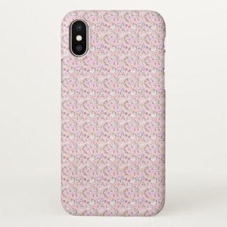 Capas de iphone cor-de-rosa bonitos do teste