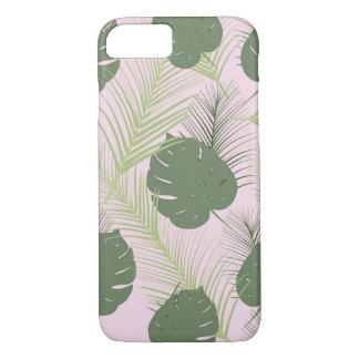 Capas de iphone cor-de-rosa da palma