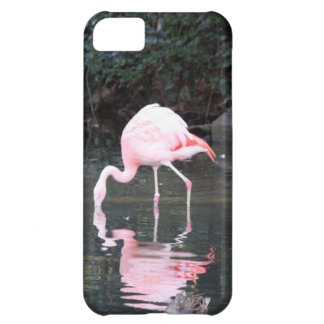 Capas de iphone cor-de-rosa do flamingo