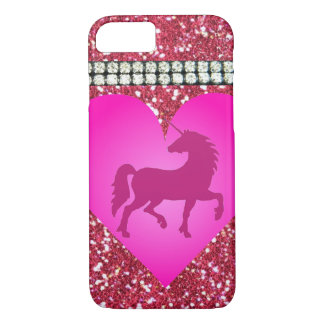 Capas de iphone cor-de-rosa do unicórnio